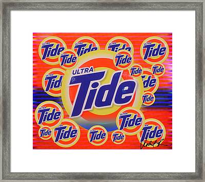 Tide Cleanse Your Soul  By Robert R Signed Original Framed Print