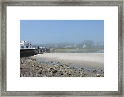 Tide Is Out Framed Print