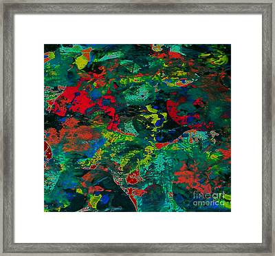 Framed Print featuring the painting Tide Pool by Jacqueline McReynolds