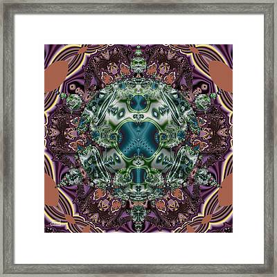 Tide Pool Framed Print by Jim Pavelle