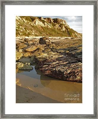 Tide Pools - 01 Framed Print by Gregory Dyer