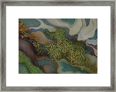 Tidepool Textures Framed Print