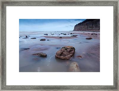Tides In Framed Print