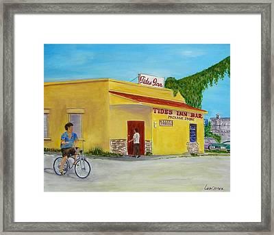 Tides Inn Bar Framed Print