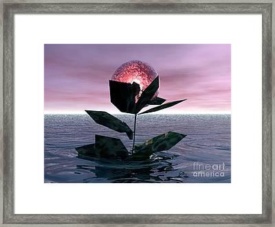 Tides Of Love Framed Print