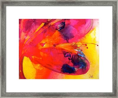 Tie Dye Wishes Framed Print