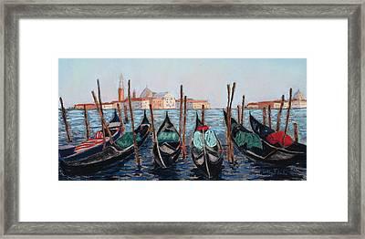 Tied Up In Venice Framed Print