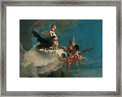 Tiepolo Giambattista, The Rape Framed Print by Everett