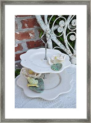 Tiered Up Framed Print by Amanda  Sanford