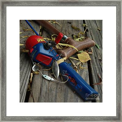 Ties That Bind Framed Print by Peter Piatt
