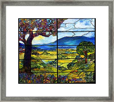 Tiffany Minnie Proctor Window Framed Print