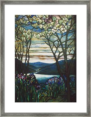 Tiffany Window, 1905 Framed Print by Granger