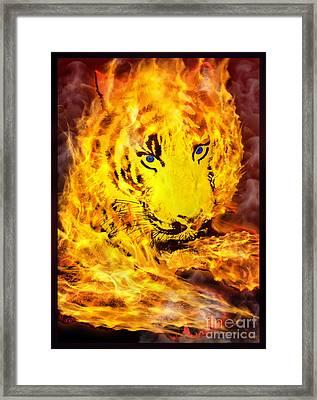 Tiger For Sale Framed Print by Gary Keesler
