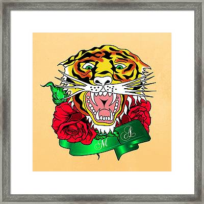 Tiger L Framed Print by Mark Ashkenazi