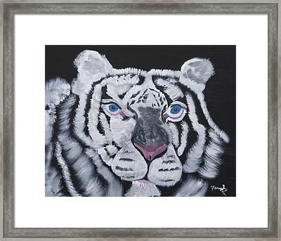 Jungle Eyes Framed Print