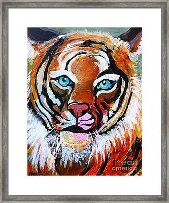 Tiger Spirit Framed Print