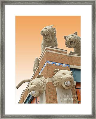 Tiger Town Framed Print