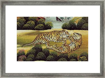 Tigers Framed Print by British Library