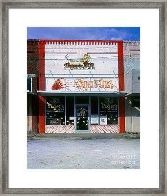 Tiger's Den  Watertown Tennessee Framed Print by   Joe Beasley