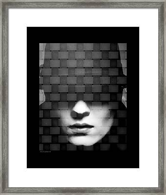 Tightly Woven Framed Print