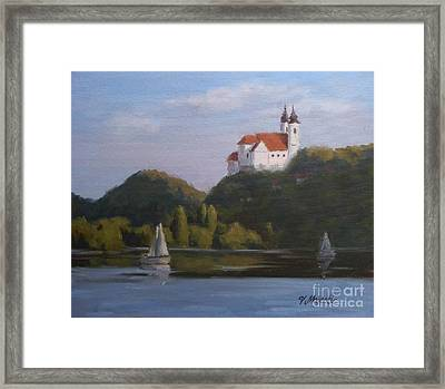 Tihany Benedictine Abbey Framed Print