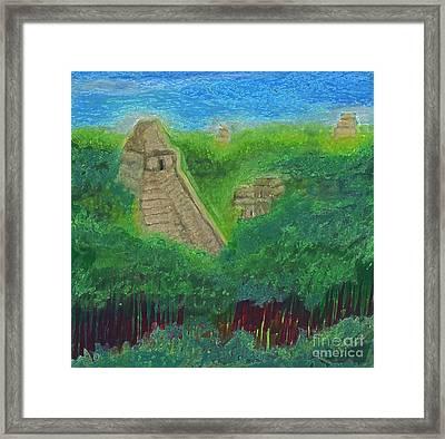 Tikal 2 By Jrr Framed Print by First Star Art