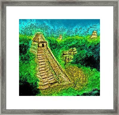 Tikal By Jrr Framed Print by First Star Art