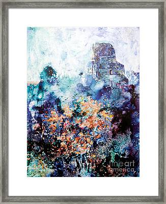 Tikal Ruins Framed Print by Ryan Fox