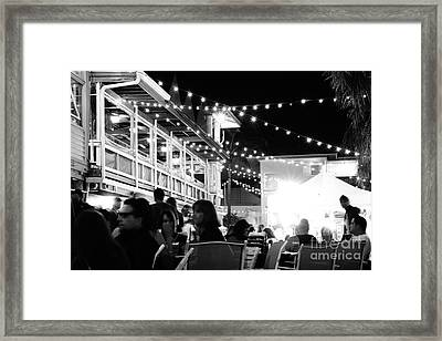 Tiki Bar Deck Framed Print by Wibada Photo