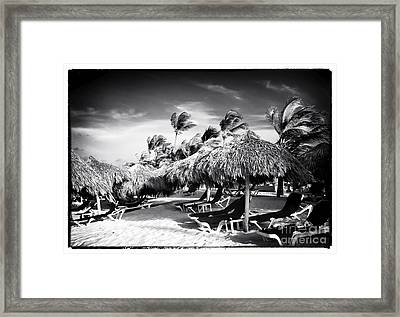 Tiki Choices Framed Print by John Rizzuto
