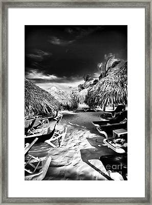 Tiki Zone Framed Print by John Rizzuto