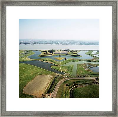 Tilbury Fort Framed Print by Skyscan/science Photo Library