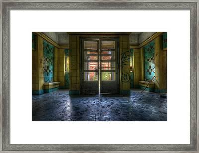 Tiled Way In  Framed Print