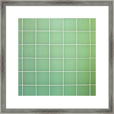 Tiles Background Framed Print