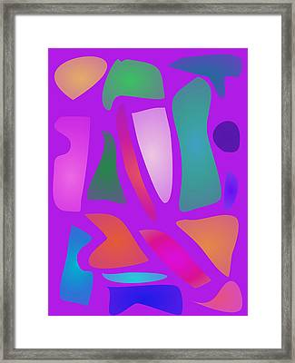 Tiles Framed Print by Masaaki Kimura