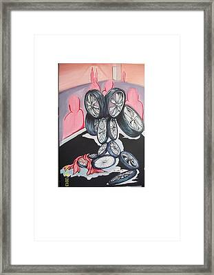Till The Wheels Fall Off Framed Print by Richard Wright Galleries