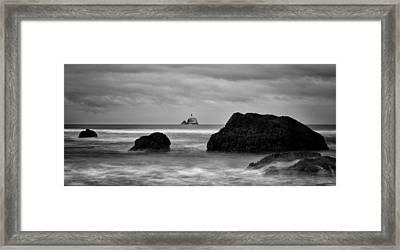 Tillamook Rock Lighthouse Framed Print by Brian Bonham