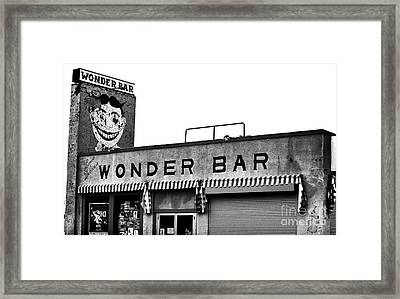 Tillie At The Wonder Bar Framed Print by John Rizzuto