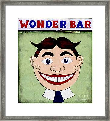 Tillie - Wonder Bar Framed Print by Colleen Kammerer