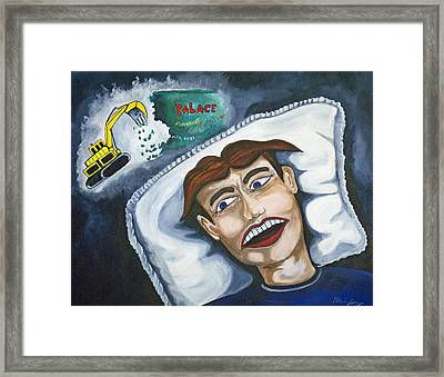 Tillies Nightmare Framed Print by Patricia Arroyo