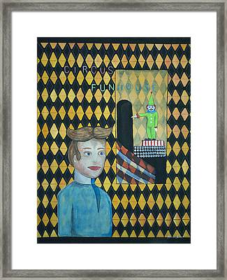 Tillies One Second Dream Framed Print by Patricia Arroyo