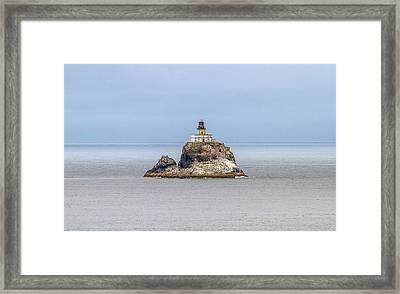 Tillimook Lighthead Framed Print by Dennis Bucklin