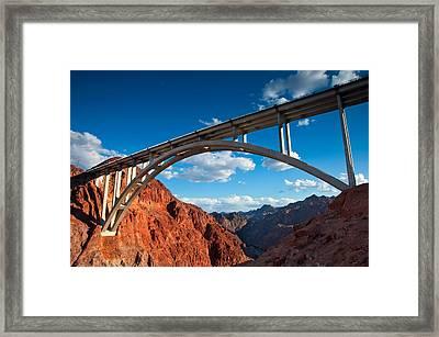 Tillman Bridge Framed Print