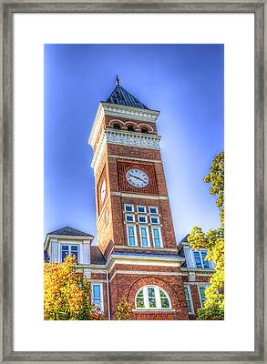 Tillman Clock Tower Framed Print