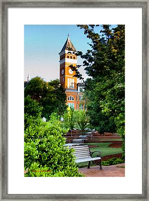Tillman Hall Early Morning Framed Print