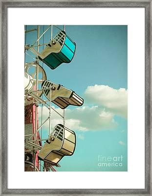 Tilt And Twirl Framed Print by Colleen Kammerer