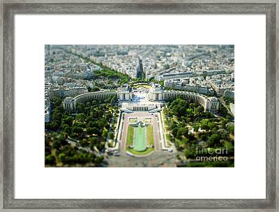Tilted Reality Framed Print by Andrew Paranavitana