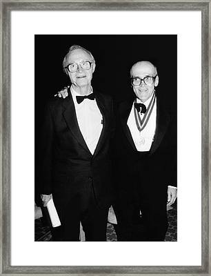 Tilton And Patterson Framed Print by Emilio Segre Visual Archives/american Institute Of Physics