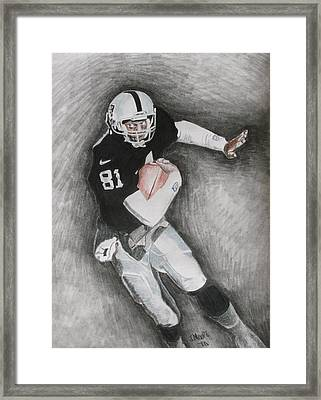 Tim Brown Framed Print by Jeremy Moore