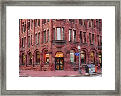 Tim Hortons Coffee Shop Framed Print by Glenn Gordon
